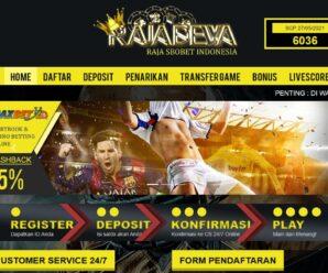 Rajadewa Agen SBOBET, Situs Judi Bola, Daftar Casino Online