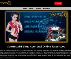 Sportsclub8 Situs Agen Judi Online Indonesia Terpercaya